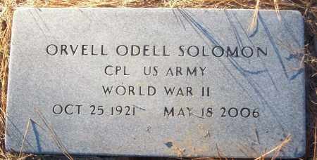 SOLOMON (VETERAN WWII), ORVELL ODELL - White County, Arkansas | ORVELL ODELL SOLOMON (VETERAN WWII) - Arkansas Gravestone Photos