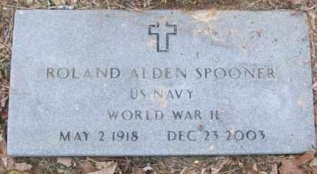 SPOONER (VETERAN WWII), ROLAND ALDEN - White County, Arkansas | ROLAND ALDEN SPOONER (VETERAN WWII) - Arkansas Gravestone Photos