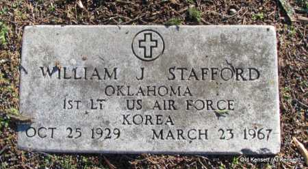 STAFFORD (VETERAN KOR), WILLIAM J - White County, Arkansas | WILLIAM J STAFFORD (VETERAN KOR) - Arkansas Gravestone Photos
