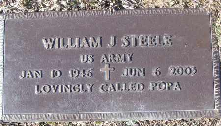 STEELE (VETERAN), WILLIAM J - White County, Arkansas | WILLIAM J STEELE (VETERAN) - Arkansas Gravestone Photos