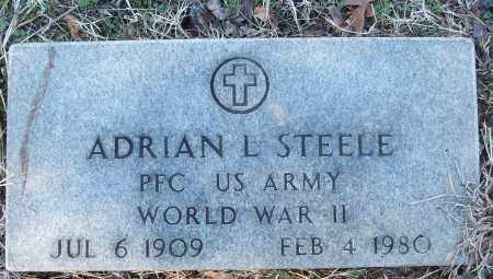 STEELE (VETERAN WWII), ADRIAN L - White County, Arkansas | ADRIAN L STEELE (VETERAN WWII) - Arkansas Gravestone Photos
