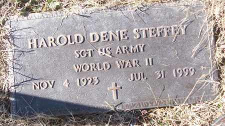 STEFFEY (VETERAN WWII), HAROLD DENE - White County, Arkansas | HAROLD DENE STEFFEY (VETERAN WWII) - Arkansas Gravestone Photos