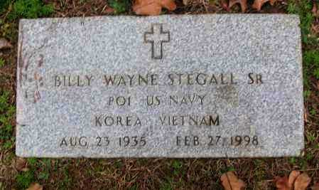 STEGALL, SR  (VETERAN 2 WARS), BILLY WAYNE - White County, Arkansas | BILLY WAYNE STEGALL, SR  (VETERAN 2 WARS) - Arkansas Gravestone Photos