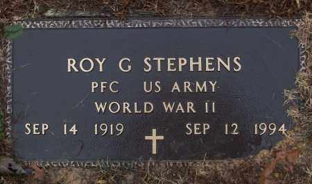 STEPHENS (VETERAN WWII), ROY G - White County, Arkansas | ROY G STEPHENS (VETERAN WWII) - Arkansas Gravestone Photos