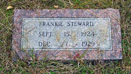 STEWARD, FRANKIE - White County, Arkansas | FRANKIE STEWARD - Arkansas Gravestone Photos