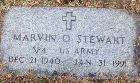 STEWART (VETERAN), MARVIN O - White County, Arkansas | MARVIN O STEWART (VETERAN) - Arkansas Gravestone Photos