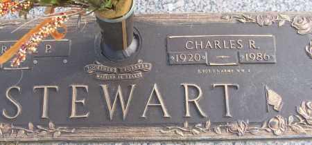 STEWART (VETERAN WWII), CHARLES R - White County, Arkansas | CHARLES R STEWART (VETERAN WWII) - Arkansas Gravestone Photos