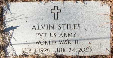 STILES (VETERAN WWII), ALVIN - White County, Arkansas | ALVIN STILES (VETERAN WWII) - Arkansas Gravestone Photos