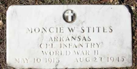 STITES  (VETERAN WWII), MONCIE W - White County, Arkansas | MONCIE W STITES  (VETERAN WWII) - Arkansas Gravestone Photos