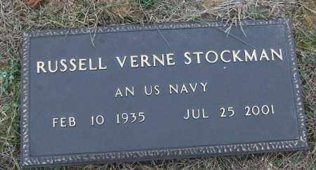 STOCKMAN (VETERAN), RUSSELL VERNE - White County, Arkansas | RUSSELL VERNE STOCKMAN (VETERAN) - Arkansas Gravestone Photos