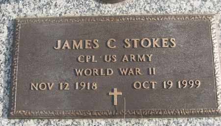 STOKES (VETERAN WWII), JAMES C - White County, Arkansas | JAMES C STOKES (VETERAN WWII) - Arkansas Gravestone Photos