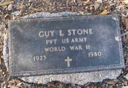 STONE (VETERAN WWII), GUY L - White County, Arkansas | GUY L STONE (VETERAN WWII) - Arkansas Gravestone Photos