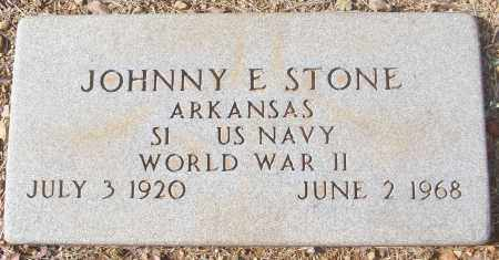 STONE (VETERAN WWII), JOHNNY E - White County, Arkansas | JOHNNY E STONE (VETERAN WWII) - Arkansas Gravestone Photos
