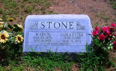 STONE, W. ERVIN - White County, Arkansas | W. ERVIN STONE - Arkansas Gravestone Photos