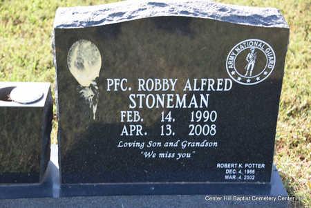 STONEMAN, ROBBY ALFRED - White County, Arkansas | ROBBY ALFRED STONEMAN - Arkansas Gravestone Photos