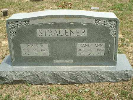 STRACENER, JAMES W - White County, Arkansas | JAMES W STRACENER - Arkansas Gravestone Photos