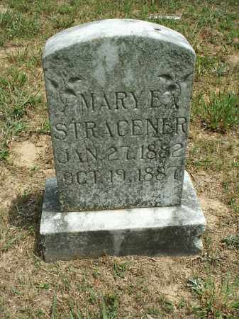 STRACENER, MARY E. - White County, Arkansas | MARY E. STRACENER - Arkansas Gravestone Photos