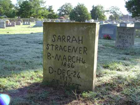 STRACENER, SARAH ANN - White County, Arkansas | SARAH ANN STRACENER - Arkansas Gravestone Photos