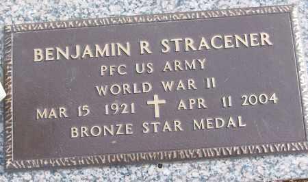 STRACENER (VETERAN WWII), BENJAMIN R - White County, Arkansas | BENJAMIN R STRACENER (VETERAN WWII) - Arkansas Gravestone Photos