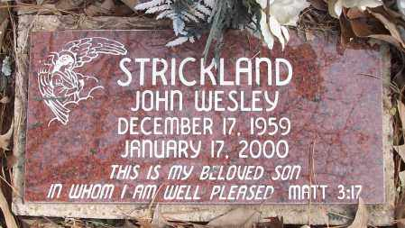 STRICKLAND, JOHN WESLEY - White County, Arkansas | JOHN WESLEY STRICKLAND - Arkansas Gravestone Photos