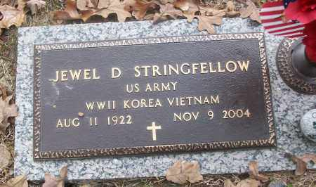 STRINGFELLOW  (VETERAN 3 WARS), JEWEL D - White County, Arkansas | JEWEL D STRINGFELLOW  (VETERAN 3 WARS) - Arkansas Gravestone Photos