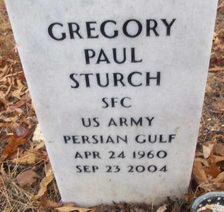 STURCH (VETERAN PG), GREGORY PAUL - White County, Arkansas | GREGORY PAUL STURCH (VETERAN PG) - Arkansas Gravestone Photos