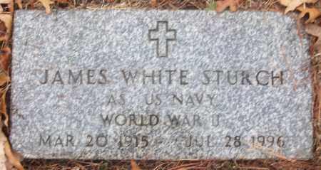 STURCH (VETERAN WWII), JAMES WHITE - White County, Arkansas | JAMES WHITE STURCH (VETERAN WWII) - Arkansas Gravestone Photos