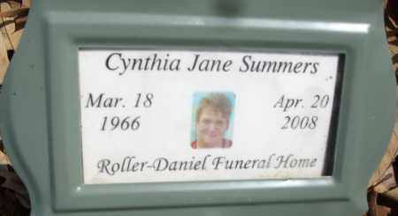 SUMMERS, CYNTHIA JANE - White County, Arkansas | CYNTHIA JANE SUMMERS - Arkansas Gravestone Photos