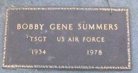 SUMMERS (VETERAN), BOBBY GENE - White County, Arkansas | BOBBY GENE SUMMERS (VETERAN) - Arkansas Gravestone Photos