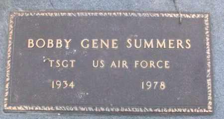 SUMMERS (VETERAN), BOBBY GENE - White County, Arkansas | BOBBY GENE SUMMERS (VETERAN) - Arkansas Gravestone Photos
