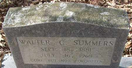 SUMMERS, WALTER C. - White County, Arkansas | WALTER C. SUMMERS - Arkansas Gravestone Photos