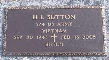 SUTTON (VETERAN VIET), H L - White County, Arkansas | H L SUTTON (VETERAN VIET) - Arkansas Gravestone Photos