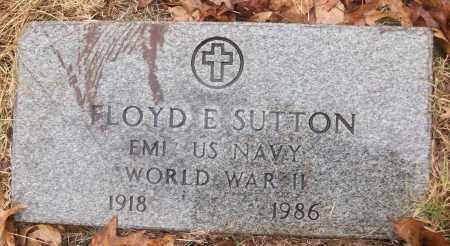 SUTTON (VETERAN WWII), FLOYD E - White County, Arkansas | FLOYD E SUTTON (VETERAN WWII) - Arkansas Gravestone Photos