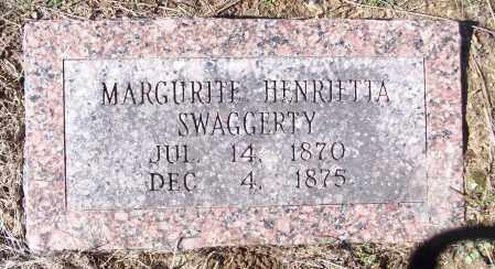SWAGGERTY, MARGURITE HENRIETTA - White County, Arkansas | MARGURITE HENRIETTA SWAGGERTY - Arkansas Gravestone Photos