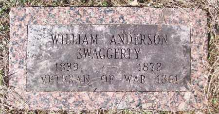 SWAGGERTY (VETERAN), WILLIAM ANDERSON - White County, Arkansas | WILLIAM ANDERSON SWAGGERTY (VETERAN) - Arkansas Gravestone Photos