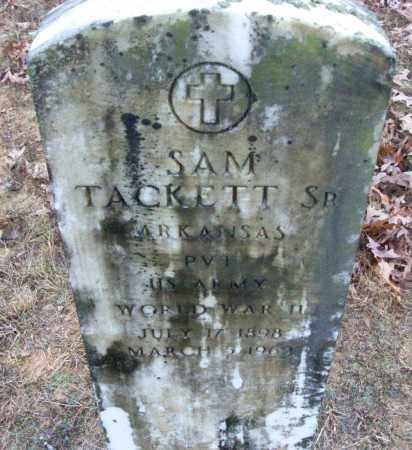TACKETT, SR (VETERAN WWII), SAM - White County, Arkansas | SAM TACKETT, SR (VETERAN WWII) - Arkansas Gravestone Photos