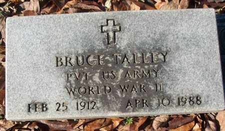 TALLEY (VETERAN WWII), BRUCE - White County, Arkansas | BRUCE TALLEY (VETERAN WWII) - Arkansas Gravestone Photos