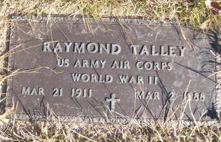 TALLEY (VETERAN WWII), RAYMOND - White County, Arkansas | RAYMOND TALLEY (VETERAN WWII) - Arkansas Gravestone Photos