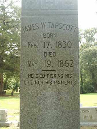 TAPSCOTT DR  2, JAMES W. - White County, Arkansas | JAMES W. TAPSCOTT DR  2 - Arkansas Gravestone Photos