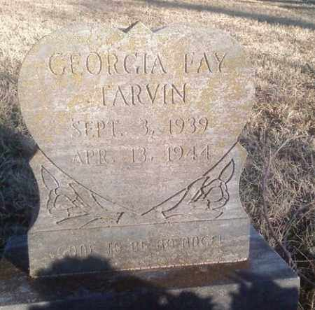 TARVIN, GEORGIA FAY - White County, Arkansas | GEORGIA FAY TARVIN - Arkansas Gravestone Photos