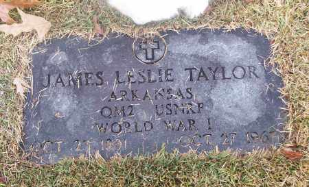 TAYLOR  (VETERAN WWI), JAMES LESLIE - White County, Arkansas | JAMES LESLIE TAYLOR  (VETERAN WWI) - Arkansas Gravestone Photos