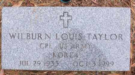 TAYLOR (VETERAN KOR), WILBURN LOUIS - White County, Arkansas | WILBURN LOUIS TAYLOR (VETERAN KOR) - Arkansas Gravestone Photos