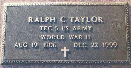 TAYLOR (VETERAN WWII), RALPH C - White County, Arkansas | RALPH C TAYLOR (VETERAN WWII) - Arkansas Gravestone Photos