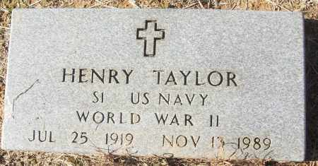 TAYLOR  (VETERAN WWII), HENRY - White County, Arkansas | HENRY TAYLOR  (VETERAN WWII) - Arkansas Gravestone Photos