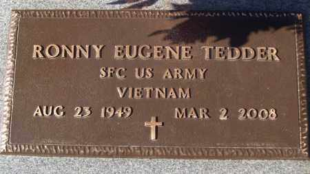 TEDDER (VETERAN VIET), RONNY EUGENE - White County, Arkansas | RONNY EUGENE TEDDER (VETERAN VIET) - Arkansas Gravestone Photos