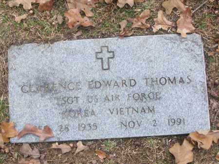 THOMAS  (VETERAN 2 WARS), CLARENCE EDWARD - White County, Arkansas | CLARENCE EDWARD THOMAS  (VETERAN 2 WARS) - Arkansas Gravestone Photos