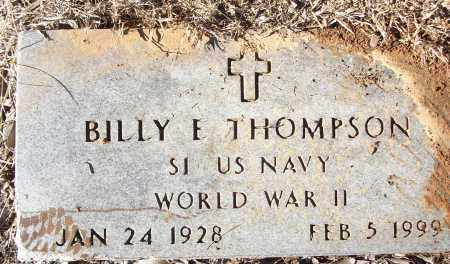 THOMPSON (WWII), BILLY E - White County, Arkansas | BILLY E THOMPSON (WWII) - Arkansas Gravestone Photos