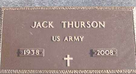 THURSON (VETERAN), JACK - White County, Arkansas | JACK THURSON (VETERAN) - Arkansas Gravestone Photos
