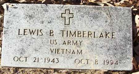TIMBERLAKE (VETERAN VIET), LEWIS B - White County, Arkansas | LEWIS B TIMBERLAKE (VETERAN VIET) - Arkansas Gravestone Photos