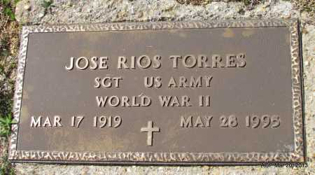 TORRES (VETERAN WWII), JOSE RIOS - White County, Arkansas | JOSE RIOS TORRES (VETERAN WWII) - Arkansas Gravestone Photos